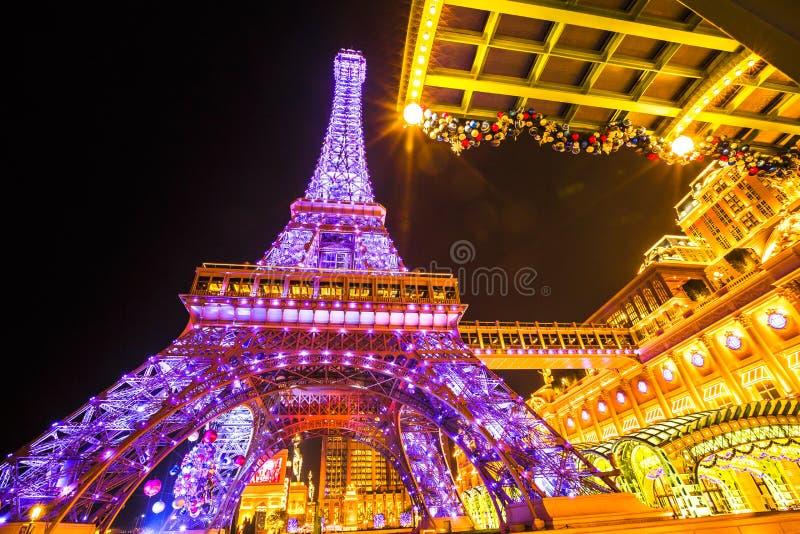 Paryjski Macau zdjęcia royalty free