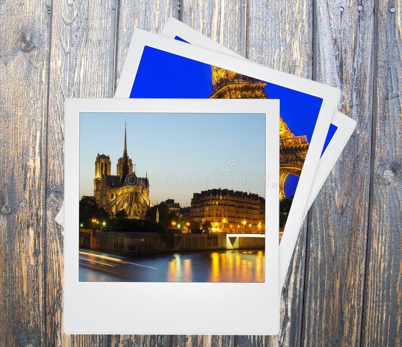 Paryscy punkty zwrotni zdjęcie royalty free