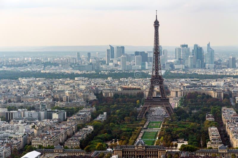 Paryska linii horyzontu panorama zdjęcia stock