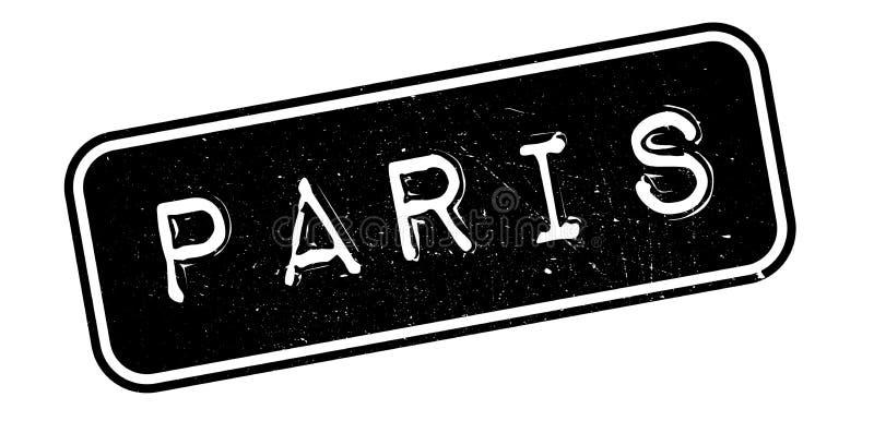 Paryska pieczątka royalty ilustracja