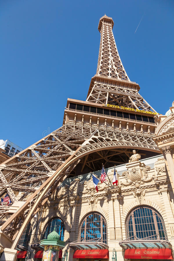 Paryski Las Vegas hotel dalej może fotografia stock