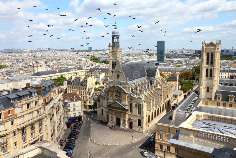 Paryski Stary miasteczko obrazy stock