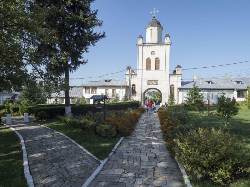 Pasarea Monastery, Romania stock photography