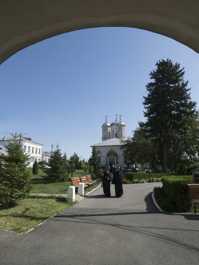 Pasarea Monastery, Romania royalty free stock photography