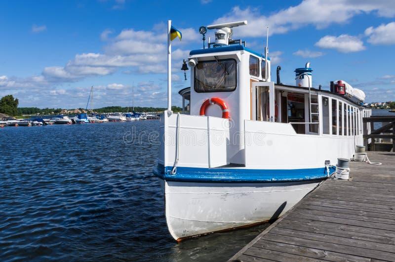 Pasażerska łódź obraz stock