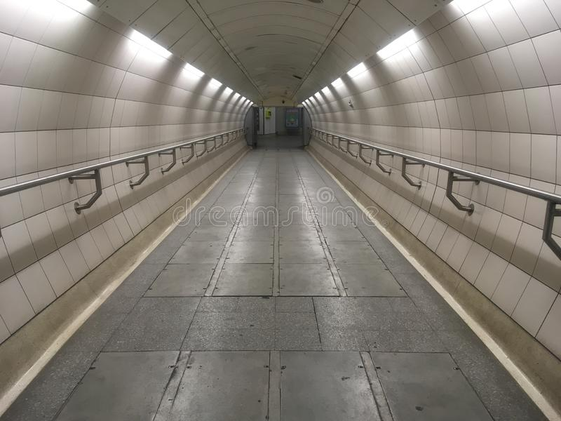 Pasażerski metro fotografia stock