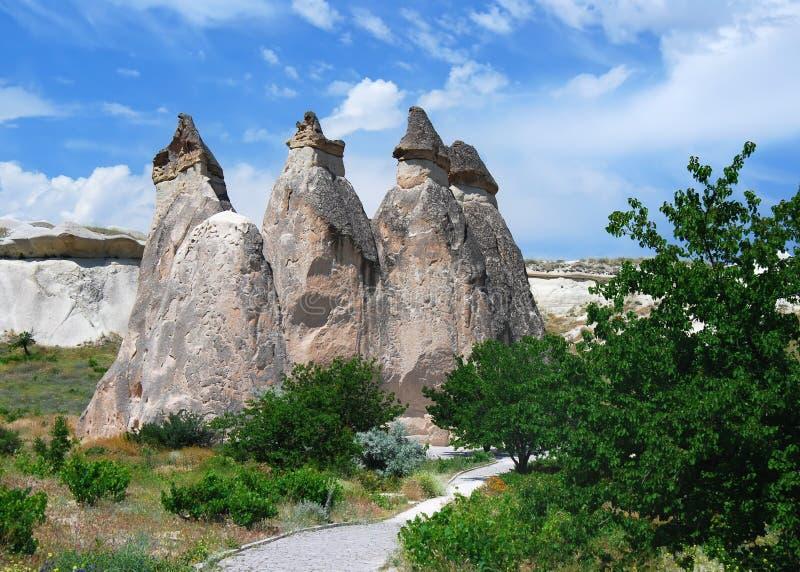 Pasa Baglari Valley in Turkey royalty free stock images