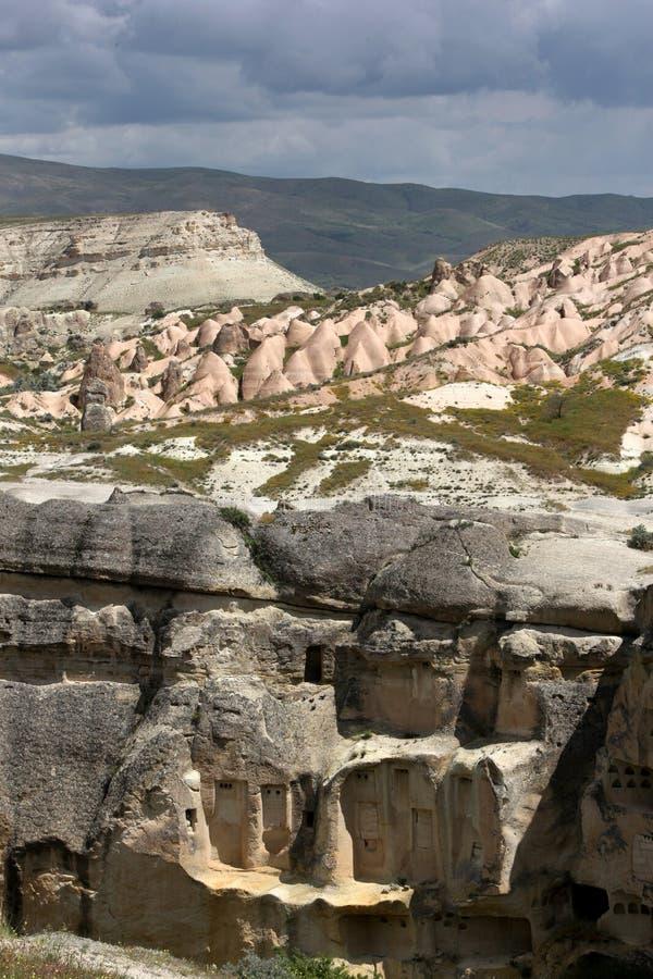 Pasabagi en la región turca de Capadocia fotografía de archivo libre de regalías