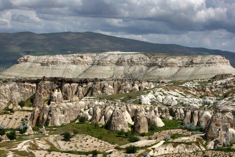 Pasabagi nella regione della Cappadocia in Turchia fotografia stock