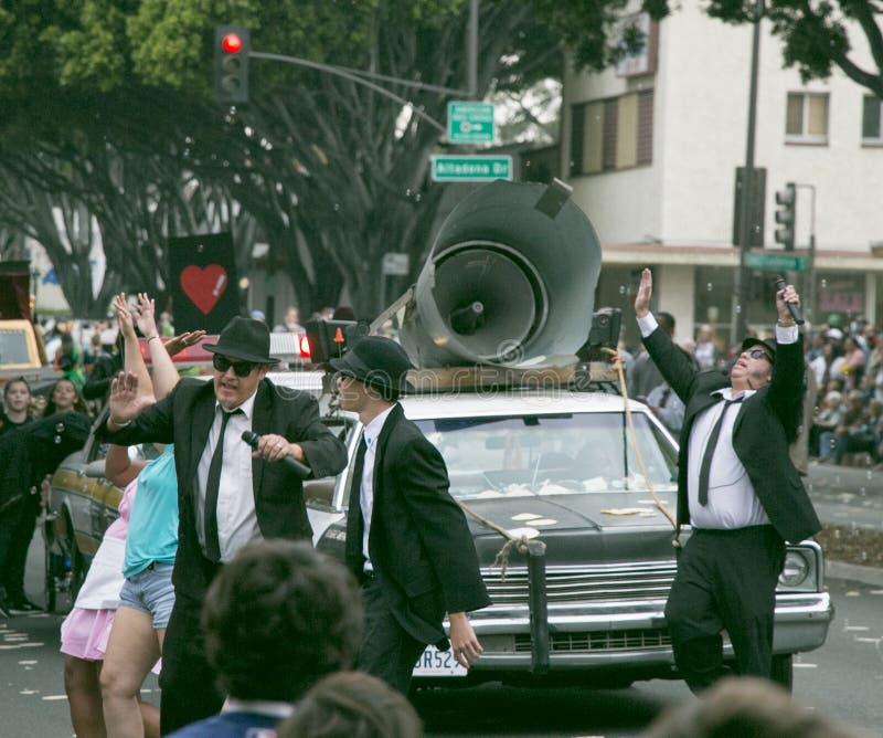 Pasadena, Califórnia - 20 de novembro de 2016: Doo Dah Parade fotos de stock