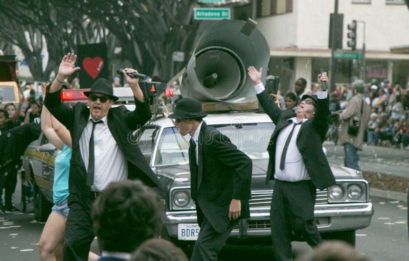 Pasadena, Califórnia - 20 de novembro de 2016: Doo Dah Parade imagens de stock royalty free