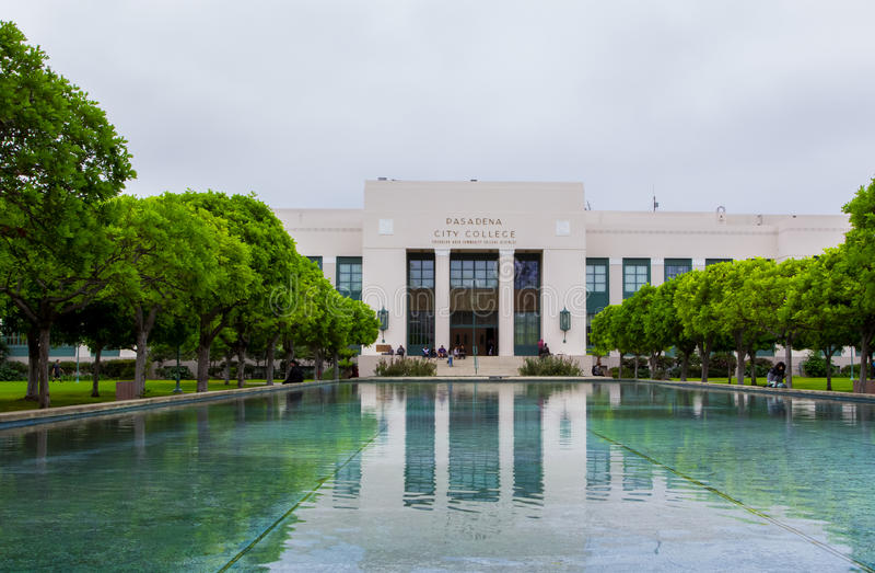 Pasadena City College stock images