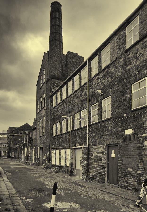 Pasado industrial fotografía de archivo libre de regalías