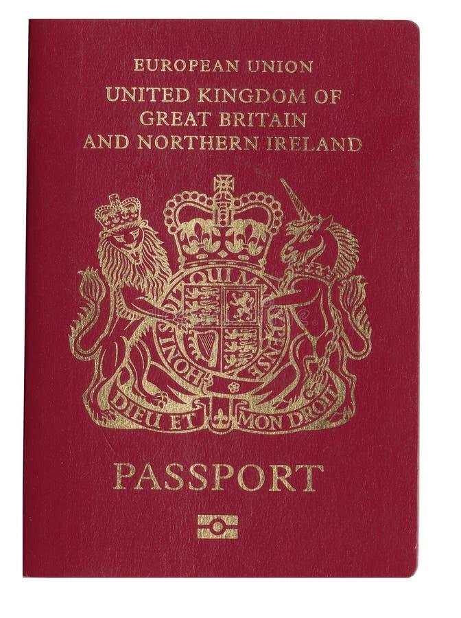 Pasaporte BRITÁNICO fotos de archivo libres de regalías