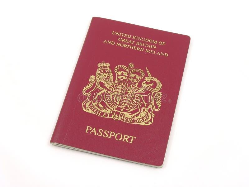 Pasaporte británico foto de archivo