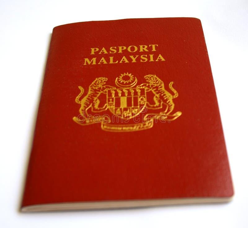 Pasaporte de Malasia fotografía de archivo libre de regalías
