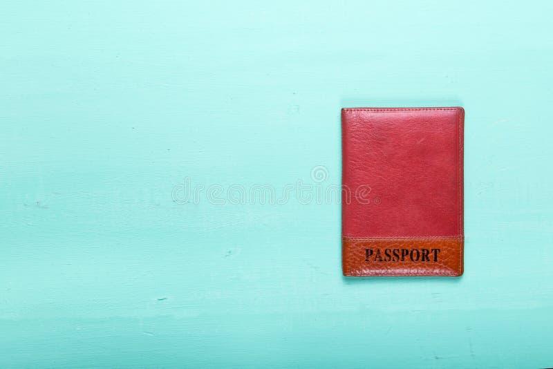 Pasaporte del documento de identidad imagenes de archivo