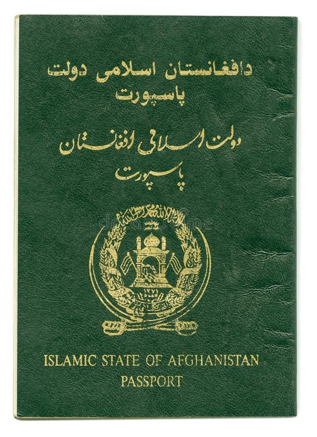 Pasaporte del Estado Islámico de Afganistán imágenes de archivo libres de regalías