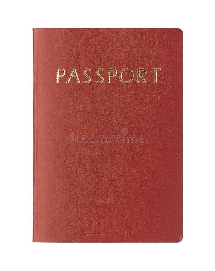 Pasaporte en blanco fotografía de archivo libre de regalías