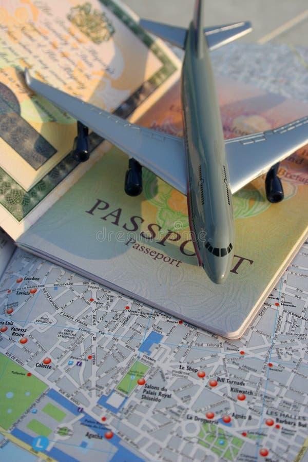 Pasaporte a Europa imagenes de archivo