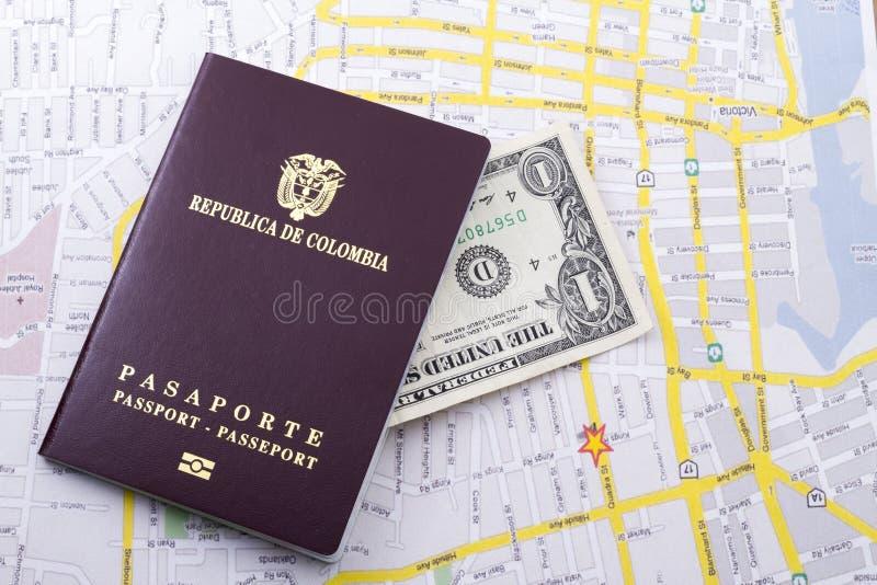 Pasaporte extranjero imágenes de archivo libres de regalías