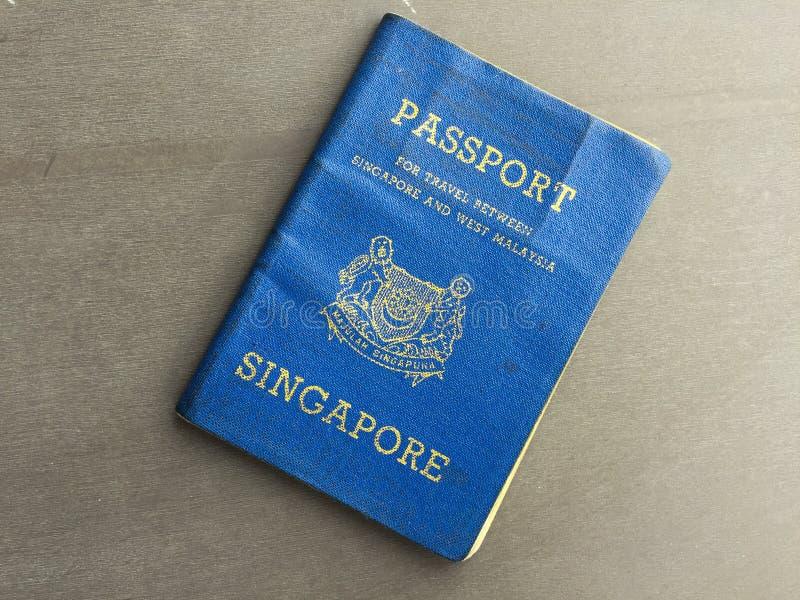 Pasaporte restringido imagen de archivo