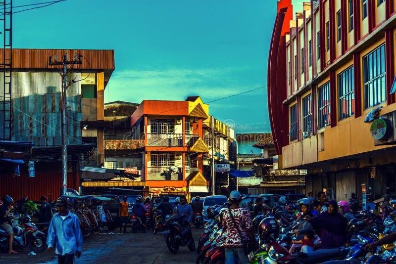 Pasar Mawar immagine stock