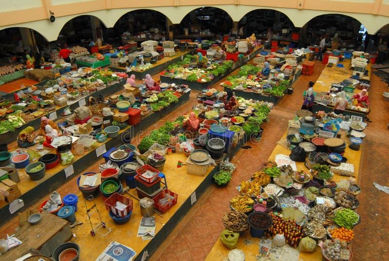 Pasar Siti Khadijah photographie stock