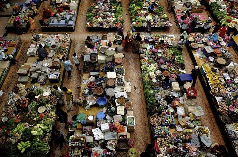 Pasar Siti Khadijah, Kota Bharu, Kelantan photo stock
