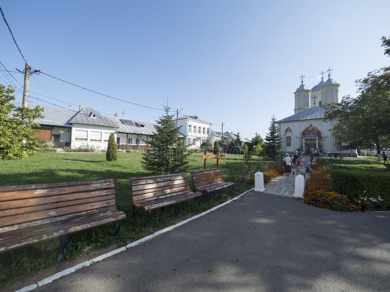 Pasarea Monastery, Romania stock images