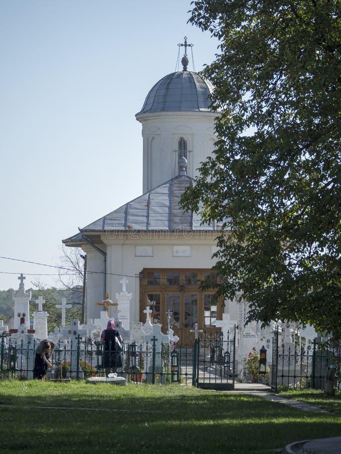 Pasarea Monastery, Romania stock image