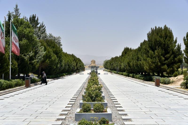 Pasargadae, Шираз, провинция Fars, Иран, 22-ое июня 2019 стоковая фотография