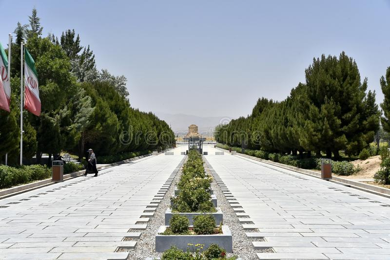 Pasargadae, Chiraz, province de Fars, Iran, le 22 juin 2019 photographie stock