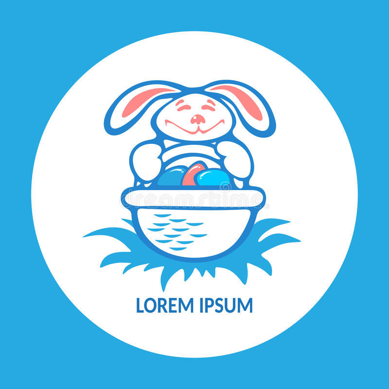 Pascua bunny-23 libre illustration
