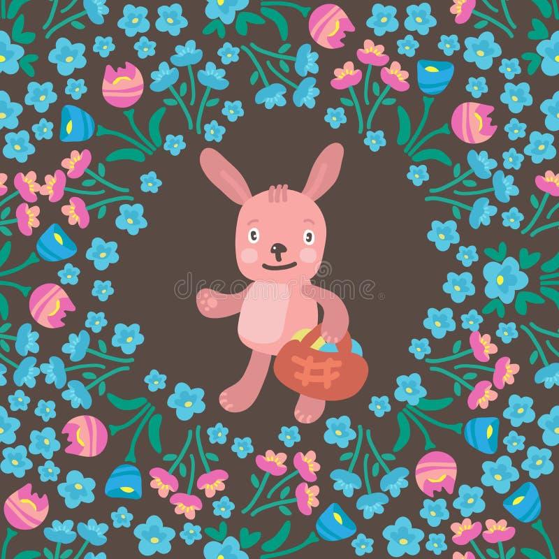 Pascua rabbits-16 stock de ilustración