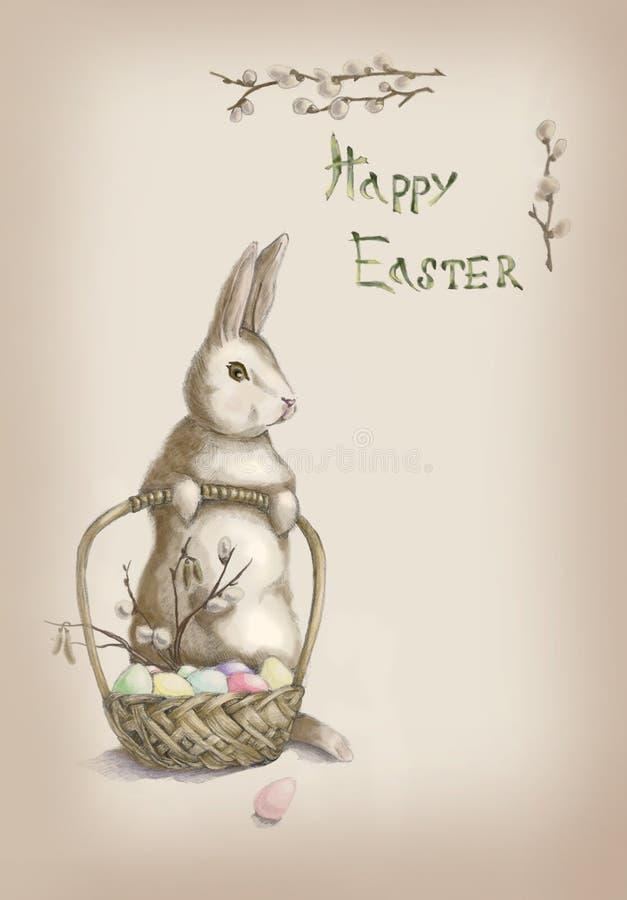 Pascua un conejo fotografía de archivo libre de regalías
