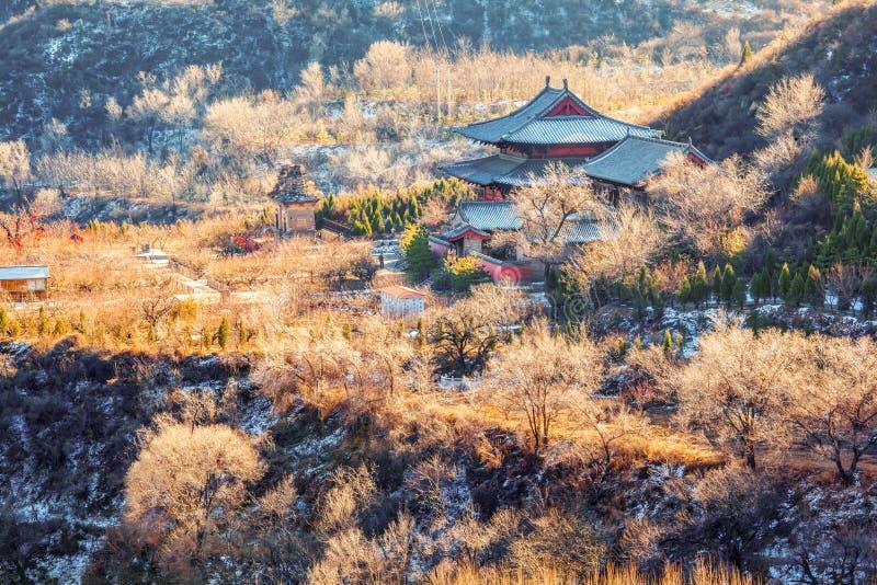 Pase por alto el templo de Kaihuo. foto de archivo libre de regalías