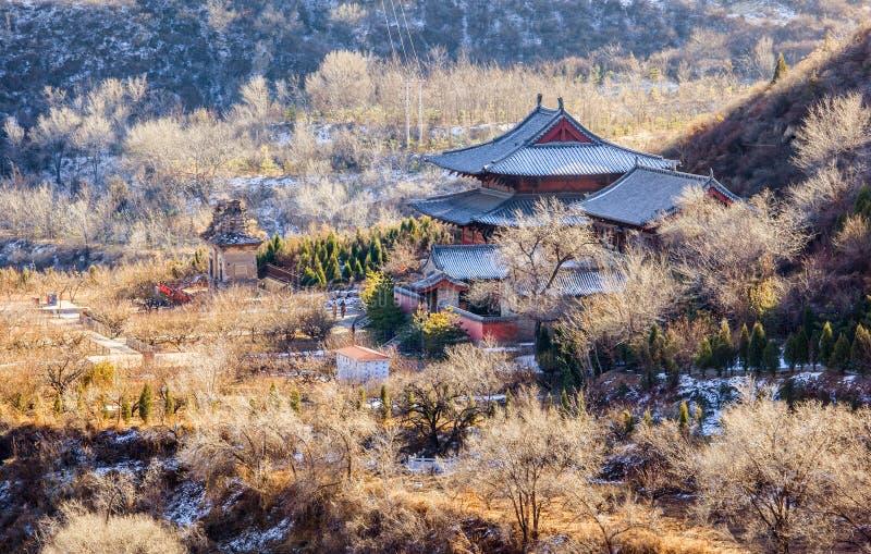Pase por alto el templo de Kaihuo. imagen de archivo libre de regalías
