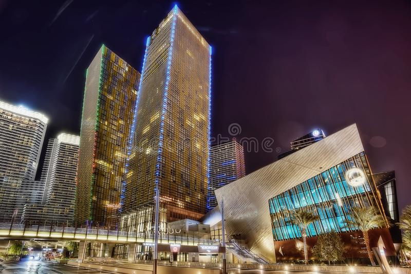 Pasek Las Vegas zdjęcie royalty free