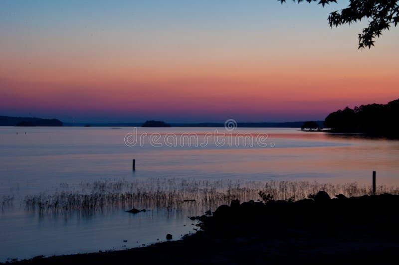 Pasek Wenus Arkansas tęcze kolor w niebie obraz royalty free