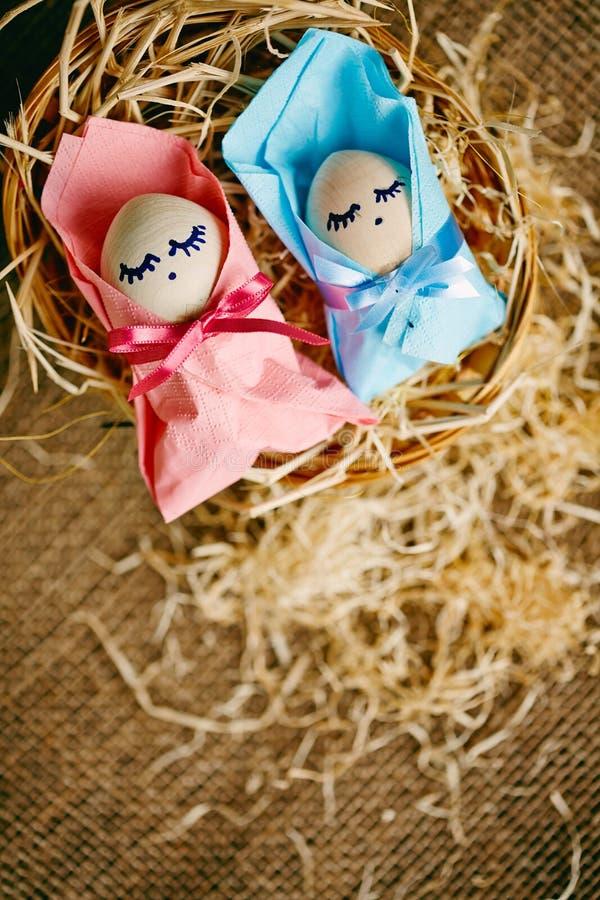 Pasen-babys royalty-vrije stock afbeelding
