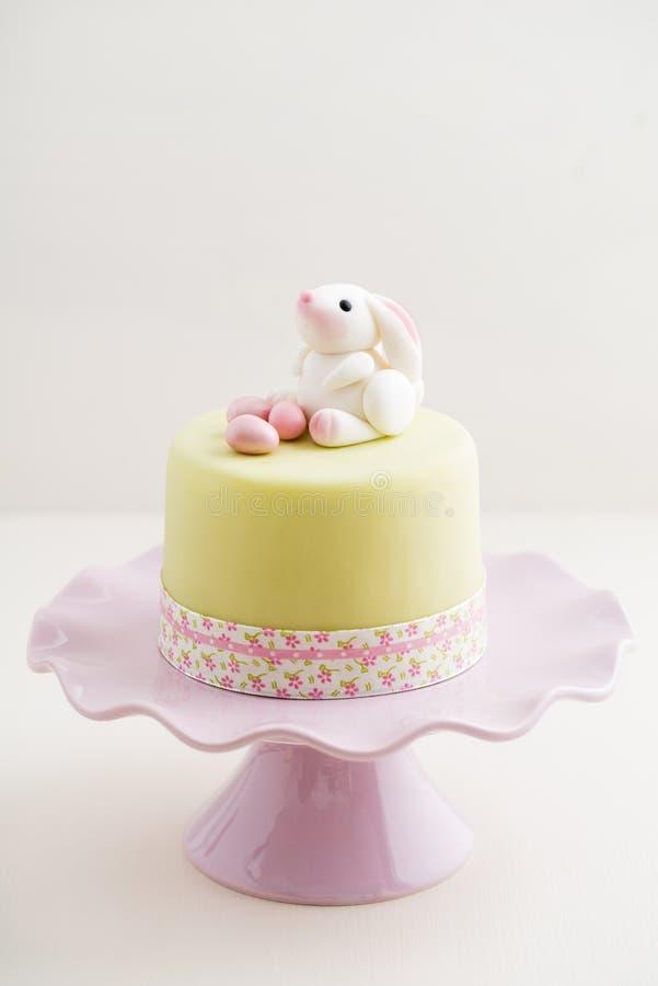 Pasen Bunny Cake stock foto's