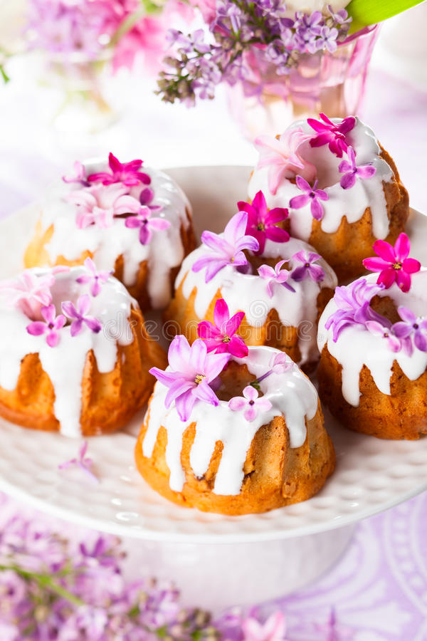 Pasen-Cakes royalty-vrije stock afbeeldingen