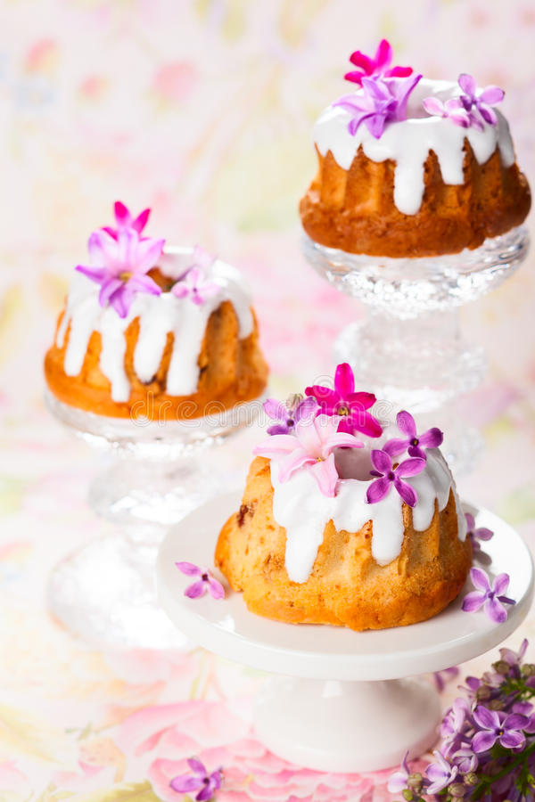 Pasen-Cakes stock fotografie