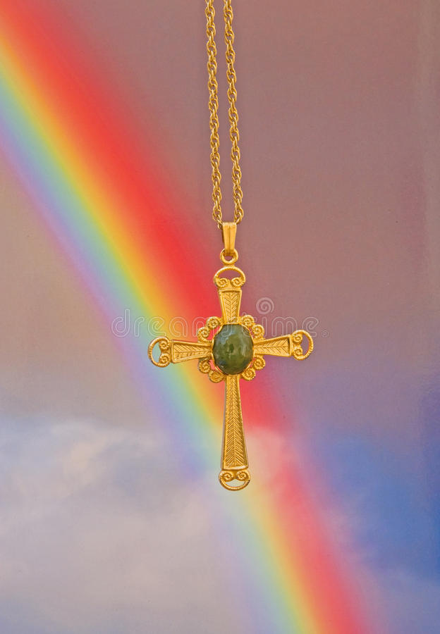 Pasen: De eeuwige belofte van de god. royalty-vrije stock afbeeldingen
