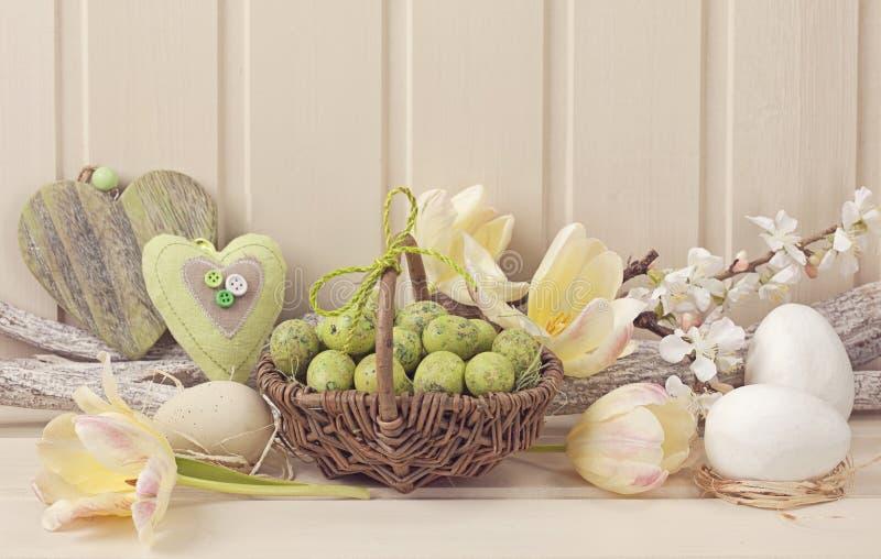 Pasen-decoratie royalty-vrije stock afbeelding