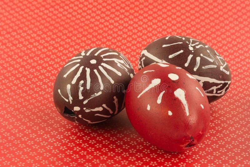 Pasen-eierschalen stock afbeelding