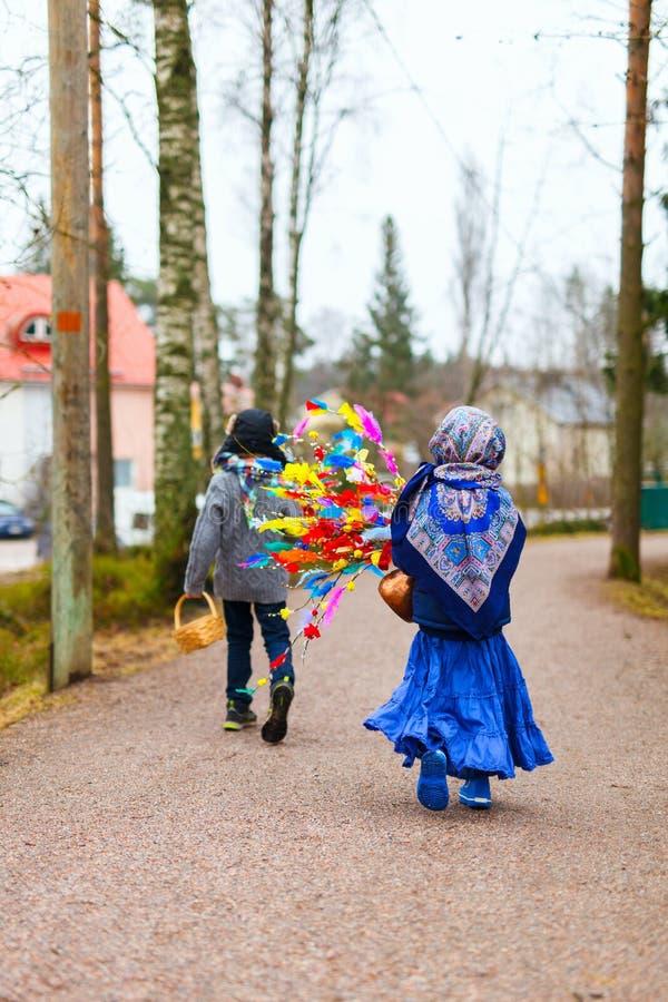 Pasen in Finland royalty-vrije stock afbeeldingen