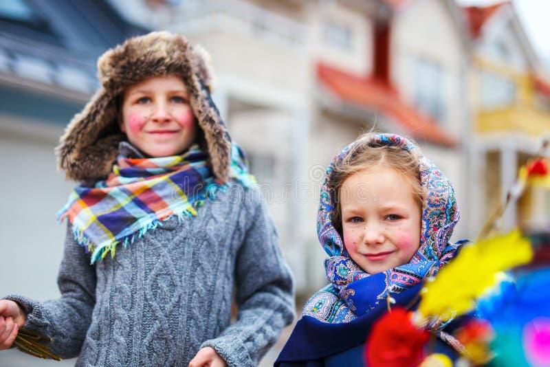 Pasen in Finland royalty-vrije stock foto's