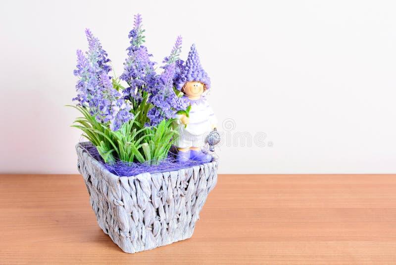 Pasen-huisdecoratie royalty-vrije stock afbeelding